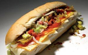 Blimpie Vegetarian Sandwich
