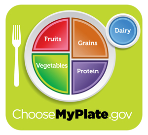 New Food Icon, MyPlate