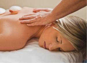 Massage beats meds