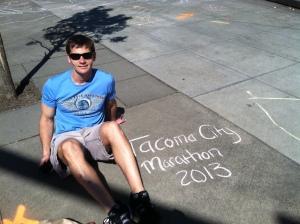 Tacoma City Marathon 2013